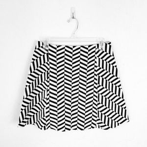 🎀 Host Pick 🎀 Zara Trafaluc Chevron Skirt